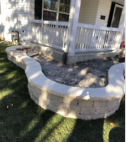 Curved Hardscaping